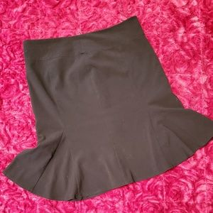 XOXO BLACK FIT & FLARE BUSINESS SKIRT!